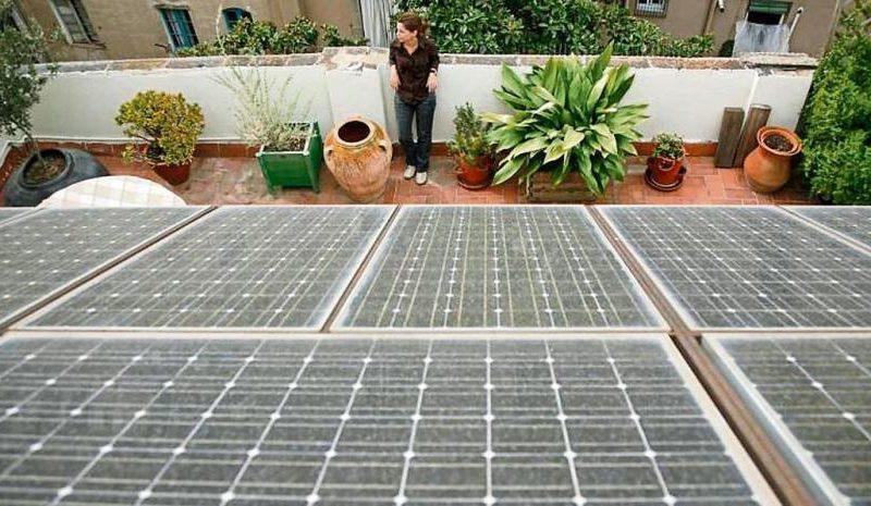 La gran distribución de paneles solares